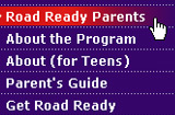 Road Ready Teens parents site